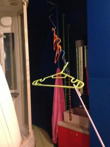 Thread of coat hangers